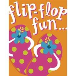 FLIP FLOP Party Invitation