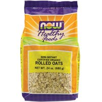 UPC 733739063038, NOW Foods - Rolled Oats - 24 oz. ( Multi-Pack)