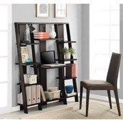 Altra Ladder Desk and Bookcase, Espresso Finish by Altra