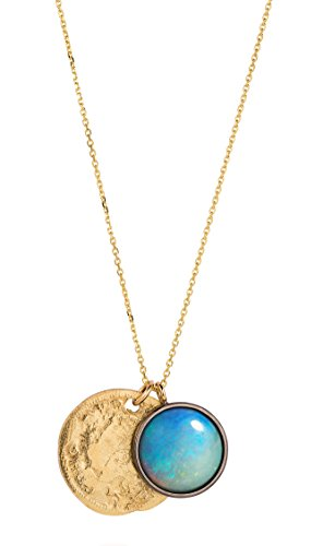 Laura Lee Collier avec pendentifs en or et opal  - Femme