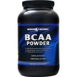 BodyStrong BCAAパウダー (BCAA Powder) (フルーツパンチ, 1000g) B0773HXTRT 1000g|フルーツパンチ  1000g