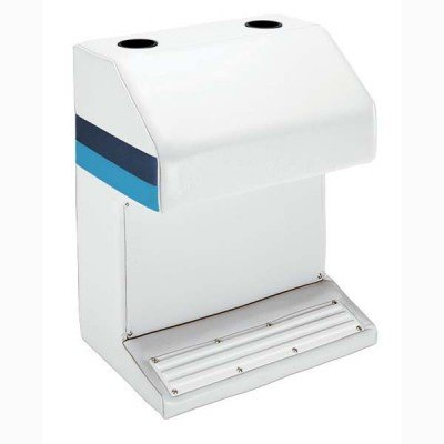 (AMRW-WD115-204 * Wise Boat Seats Pontoon Captain'S Stand- White )