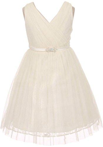beautiful simple lace wedding dresses - 9