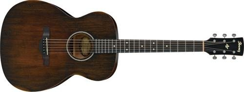 Antique Acoustic Guitar - Ibanez AVC6 Artwood Vintage Distressed Grand Concert Acoustic Guitar Tobacco Sunburst