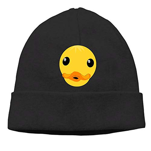 PPUttDJddGH-P Adult Mens Womens Unisex Clipart Duck Face Street Knitted Hat
