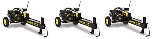 Champion 7-Ton Compact Horizontal Gas Log Splitter with Auto Return (Pack of 3)