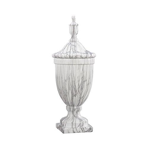 Faux Marble Urn - Elk Neuchatel Ceramic Urn - Large vase, Faux Marble
