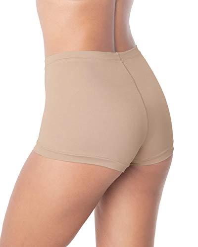 - Boyshort Style Panty Beige