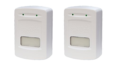 Electronic Pest Repellent Pest Control Set of 2 by Pest Offense