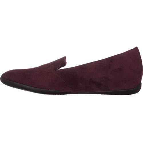 BareTraps Womens Janine Closed Toe Loafers, Wine, Size 9.5 ()