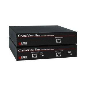 Rose Electronics CrystalView CAT5 PS/2 Dual KVM Extender Kit (CRK-2P/AUD)