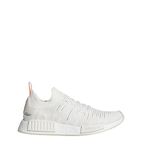 adidas Originals Women's NMD_R1 Cloud White/Cloud White/Clear Orange 9.5 B US B (M)