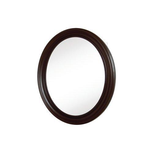 Pegasus SP4603 30-Inch Deco High Oval Framed Medicine Cabinet, Oil Rubbed Bronze by (Oval Framed Medicine Cabinet)