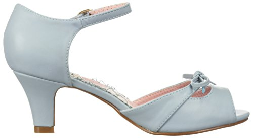 Bettie Page Womens Bp250-Tegan Heeled Sandal Blue jRmrTV