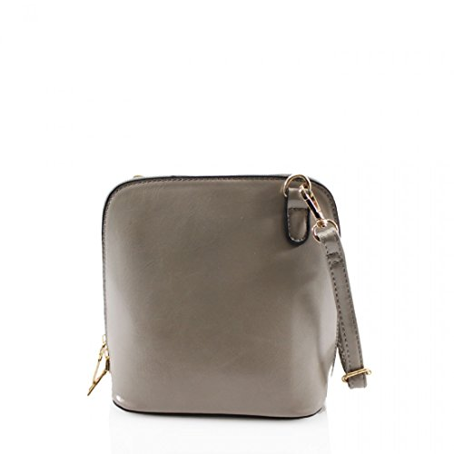 Evening Grey Faux Square Designer Ladies Crossbody bag Bag Womens Shoulder Style Leather Bag Small fPPxOnq