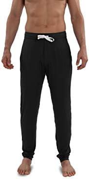 Saxx Underwear Men's Snooze Lounge Pants - Men's Lounge Wear Pants – Ankle Length PJ Pants – Men's Sleep and L