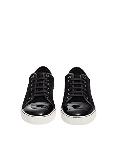 Uomini Lanvin Sconosciuti Fmskdbb1vbalp1510 Sneakers In Pelle Nera