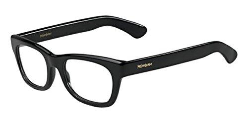 (Yves Saint Laurent 2321 Eyeglasses-0807 Black-52mm)