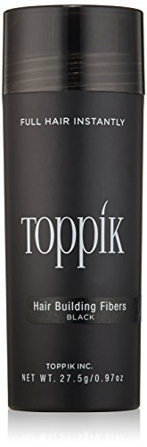 TOPPIK Hair Building Fibers, Black 27.5 g by Toppik
