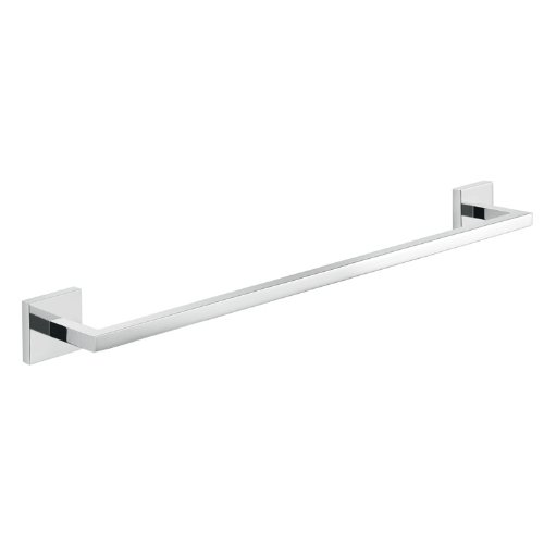 Gedy Elba Wall Mounted Towel Bar, Chrome, 18'' by Gedy