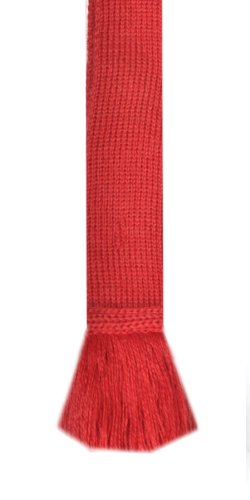Classic Garter Ties (Tartan Red)