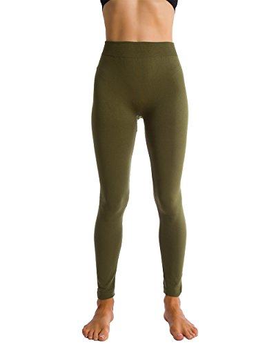 Fleece Brushed Leggings Thights Homma product image