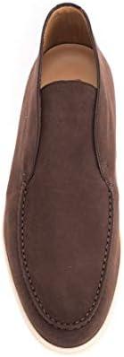 LORO PIANA Luxury Fashion Uomo FAB4368H026 Marrone Camoscio Polacchini | Autunno-Inverno 20