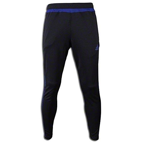 adidas Men's Tiro 15+ Graphic Pant Black/Amazon Purple/Night Flash Pants LG X 30