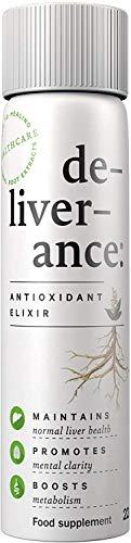 de-liver-ance – Liver Detox – Antioxidant Supplement – Immune Support – Natural Formula – Body Cleanse – Pack of 3