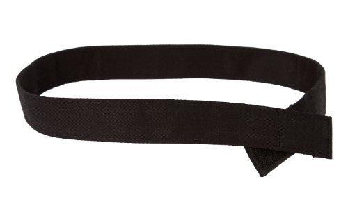 Myself Belts - Toddler and Kids Belt for Uniforms - Black Twill (6)