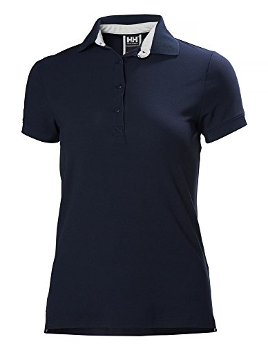 Helly Hansen W Crewline, Polo para Mujer, Azul (Evening Blue), X-Small (Tamaño del Fabricante:XS)