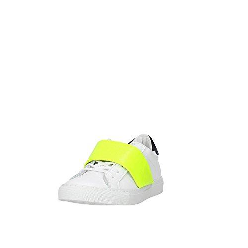 D.A.T.E.. NEWMAN-29 Petite Sneakers Femme Blanc c3OgOaVVk