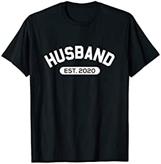 [Featured] Funny Family Husband Est. 2020 Married This Year Newlywed in ALL styles | Size S - 5XL