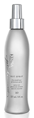 Kenra Platinum Hot Spray #20, 55% VOC, 8-Ounce (Best Heat Protectant For Blonde Hair)