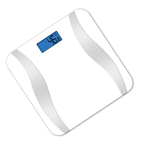 XIAOBAI Bathroom Scales Easy to Read Digital White Bluetooth Slim Design Smart Body Fat Scales