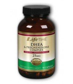 LifeTime - DHEA et prégnénolone 10mg / 15mg 90 Cap