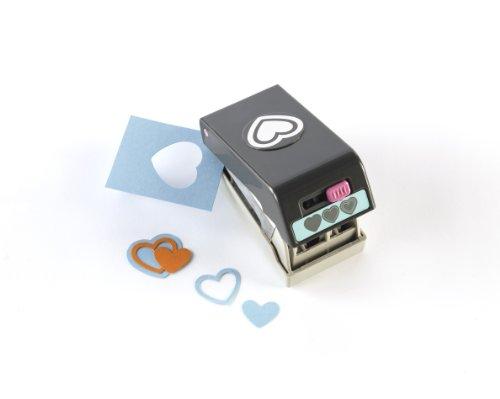 Ek Success Heart - EK Success Tools Punch, Layering Punch, Heart, Old Package