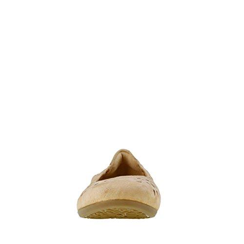Earth Womens Breeze Ballet Flat Camel Soft Buck eJkEp6qR7J