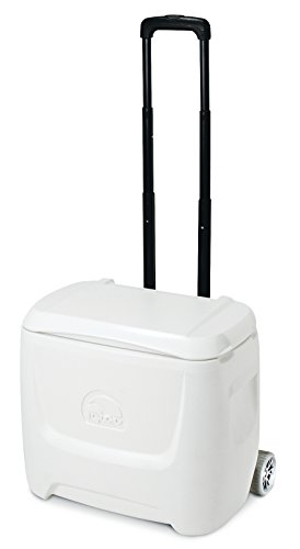 Igloo Marine Breeze Roller Cooler (28-Quart, White)
