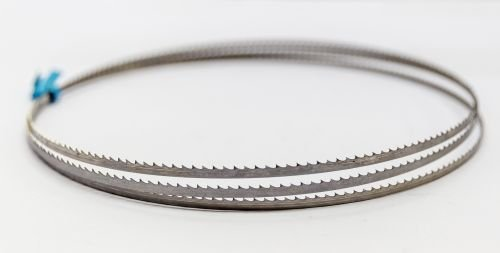 3 x SBM Uddeholm Holzsä geband 1400 x 12 x 0,6 mm mit 6 mm Zahnabstand, Bandsä geblatt Sägeband-Manufaktur