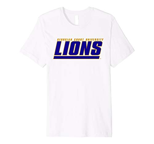 Georgian Court University Lions NCAA T-Shirt PPGCTU06 ()