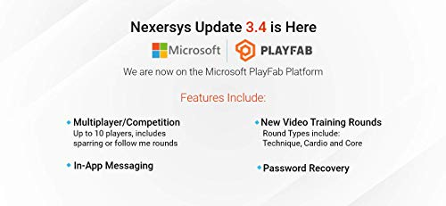 Nexersys N3 Elite: The Personal Boxing Trainer for Your Home. Challenging HIIT Workouts that Builds Confidence with Cardio, Technique, Gaming & Core Workouts. Interactive Fitness on Microsoft PlayFab. 6