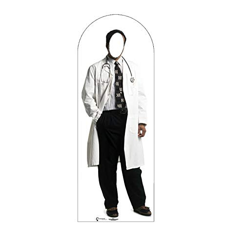 Advanced Graphics Doctor Stand-In Life Size Cardboard Cutout Standup