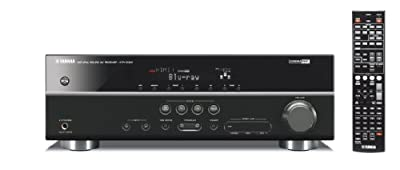 Yamaha HTR-3063BL 5.1- Channel 500 Watt AV Receiver (Discontinued by Manufacturer)