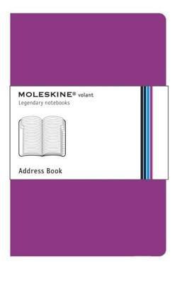 - Moleskine Volant Address Book Extra Small Magenta (2.5 X 4)[MOLESKINE VOLANT ADDRESS BK EX][Other]
