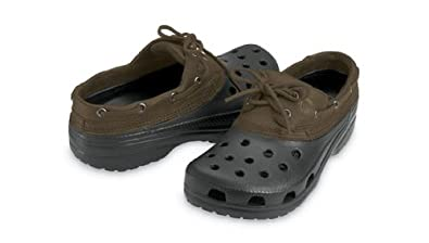 0fef63923 Amazon.com  Crocs Islander - Black with Chocolate