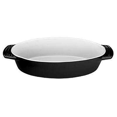 Le Creuset Stoneware Oval Dish, 1-3/4-Quart
