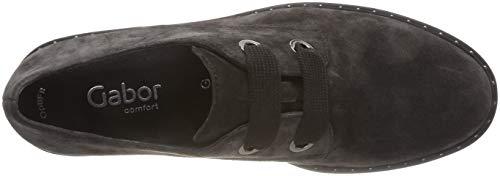 Stringate Comfort 39 Sport grey Scarpe Gabor Dark Derby Grigio Donna atdntqxz