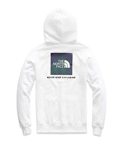 The North Face Women's Red Box Pullover Hoodie TNF White/Iridescent Multi XX-Large