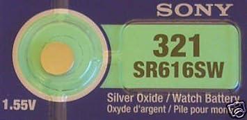 Sony 321 Sr616sw Sb Af Uhrenbatterie Kamera